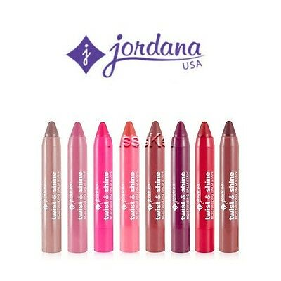 Jordana Twist & Shine Moisturizing Lip Balm Stain U Pick Lipbalm Lipstain