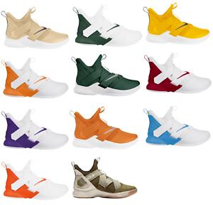 online retailer 5f8c7 7c4b5 Image is loading Nike-Lebron-James-Soldier-XII-12-Sneakers-Men-