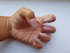 24-Hand-Painted-False-Nails-Nude-Pink-Full-Cover-Gel-False-Nails-Tips