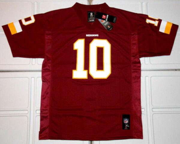 Washington Redskins #10 Griffin III NFL Team Jersey Youth XL for sale online | eBay