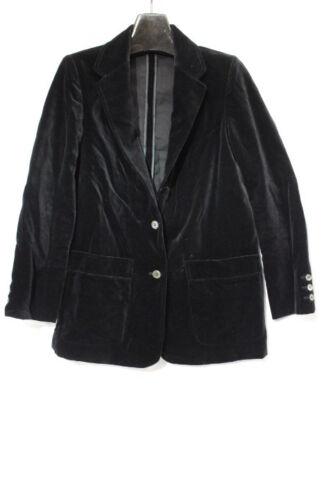 Margaret Godfrey For BAGATELLE Black Velvet Blazer