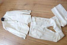 JOHN RICHMOND ANZUG L 50 jacket blazer jacke white jr rich x suit
