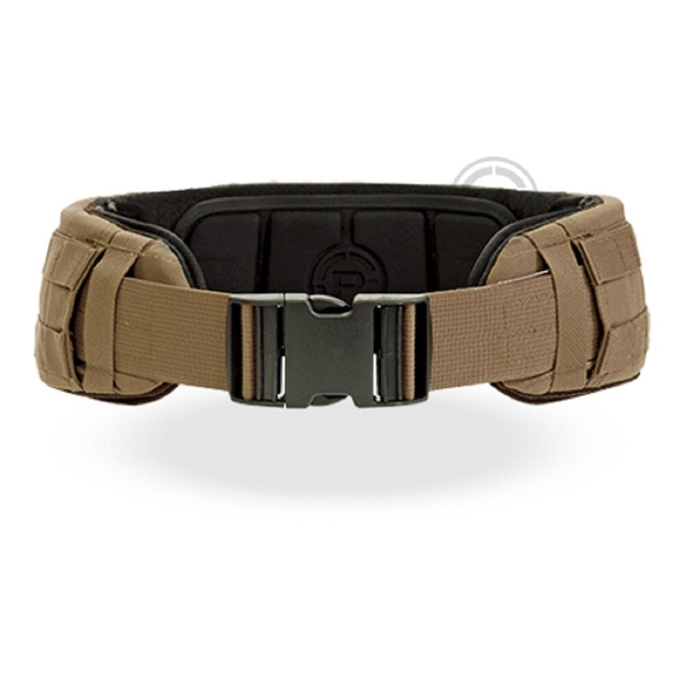 Crye PRECISIÓN Cinturón de bajo perfil-Coyote marrón-medio