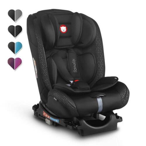 36kg drehbar Lionelo Sander Kindersitz Autositz schwarz ISOFIX Reboarder 0+//III