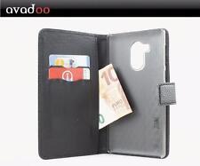 avadoo® Vernee Apollo Flip Case Cover Tasche Schwarz mit Magnetverschluss Hülle