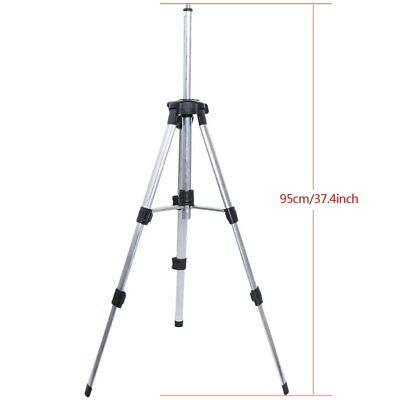 "1m Portable Adjustable Height thicken aluminum Tripod 5/8"" laser level tripod"