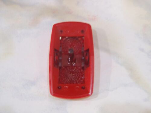HORN ACTUATOR COVER CONTURA II HORN RED WITH RED LENS FITS CARLING V SWITCH BASE