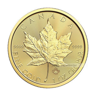 1 oz 2017 Canadian Maple Leaf Gold Coin