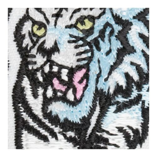Tiger /& Animal Patches Walking White Tiger Patch