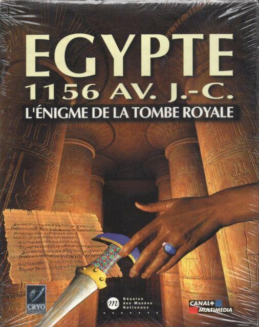 EGYPTE 1156 AV. J-C / JEU PC / BIG BOX CARTON / NEUF SOUS BLISTER / VF