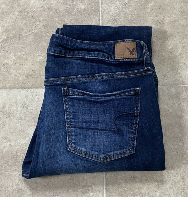 American Eagle Super Stretch JEGGING Jeans Size 12 R Inseam 29