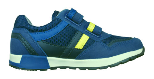 Blue Geox Boys Trainers J Alfier B.C Casual Comfortable Shoes £59.95 RRP