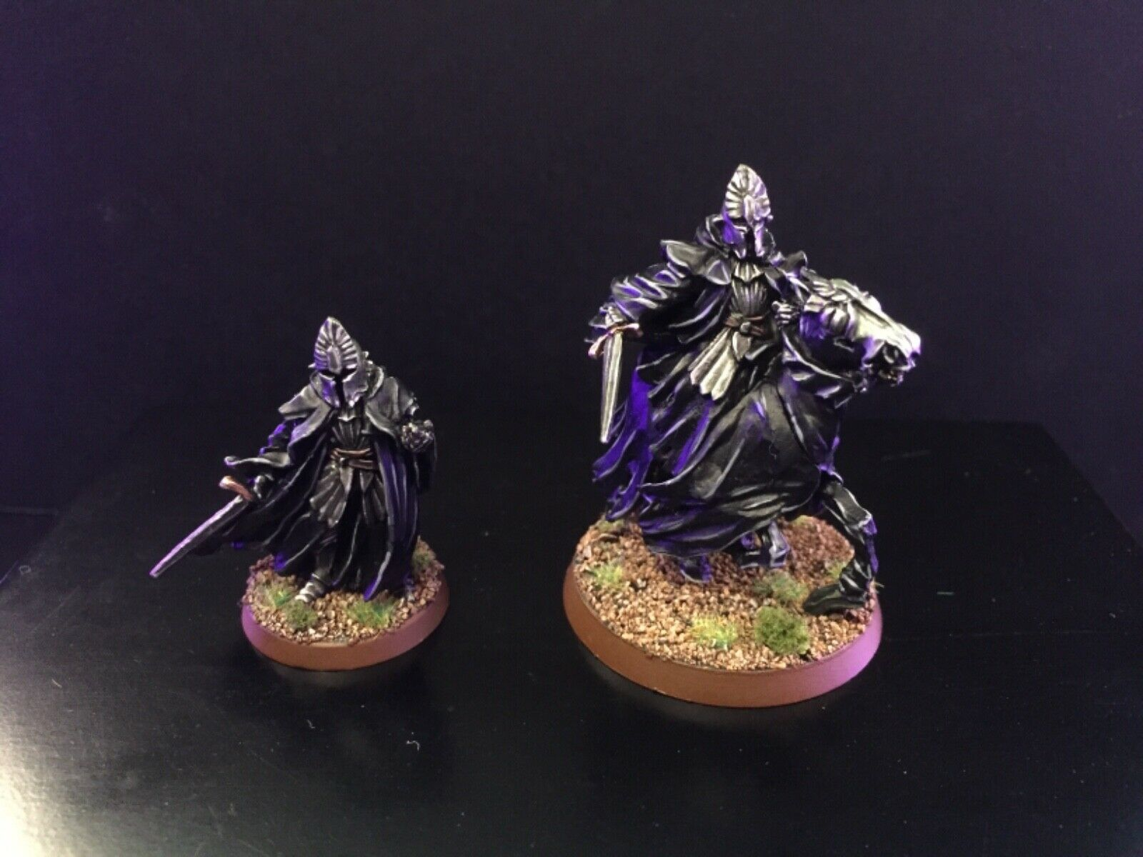 Games workshop lord of the rings ringwraith nazgul knight of umbar