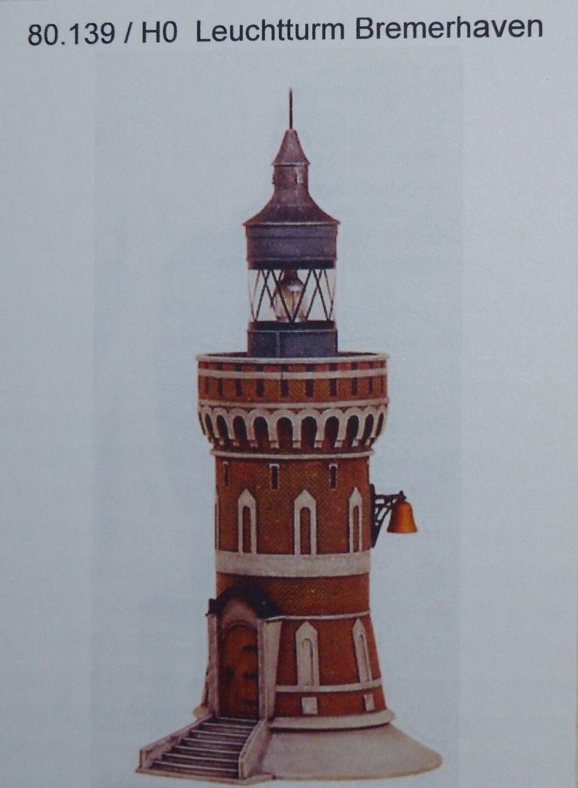 Artmaster 80.139 Leutturm Bremerhaven h0 1:87 KIT smontati