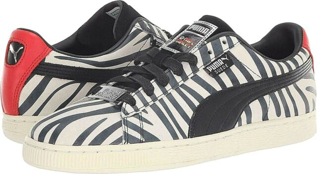 newest 2ce26 d515f Mens 10.5 PUMA Suede Classic Kiss Paul Stanley Shoes Zebra Gene Simmons