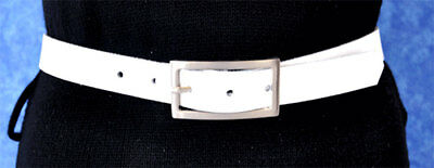 Disciplinato 2cm Larga Alla Moda Sottile Pelle Cintura Lunghezza E Colore A Scelta-mostra Il Titolo Originale