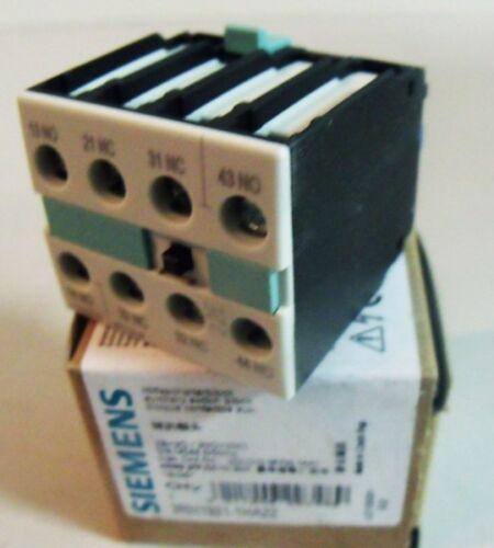 Siemens 3RH1921-1HA22 3RH1 921-1HA22 E-Stand 06 Hilfsschalter unused//OVP