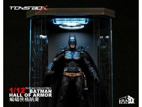 TOYS-BOX Comicave 1 12 SHF Batman Hall of Armor Acrylic Box Display Case