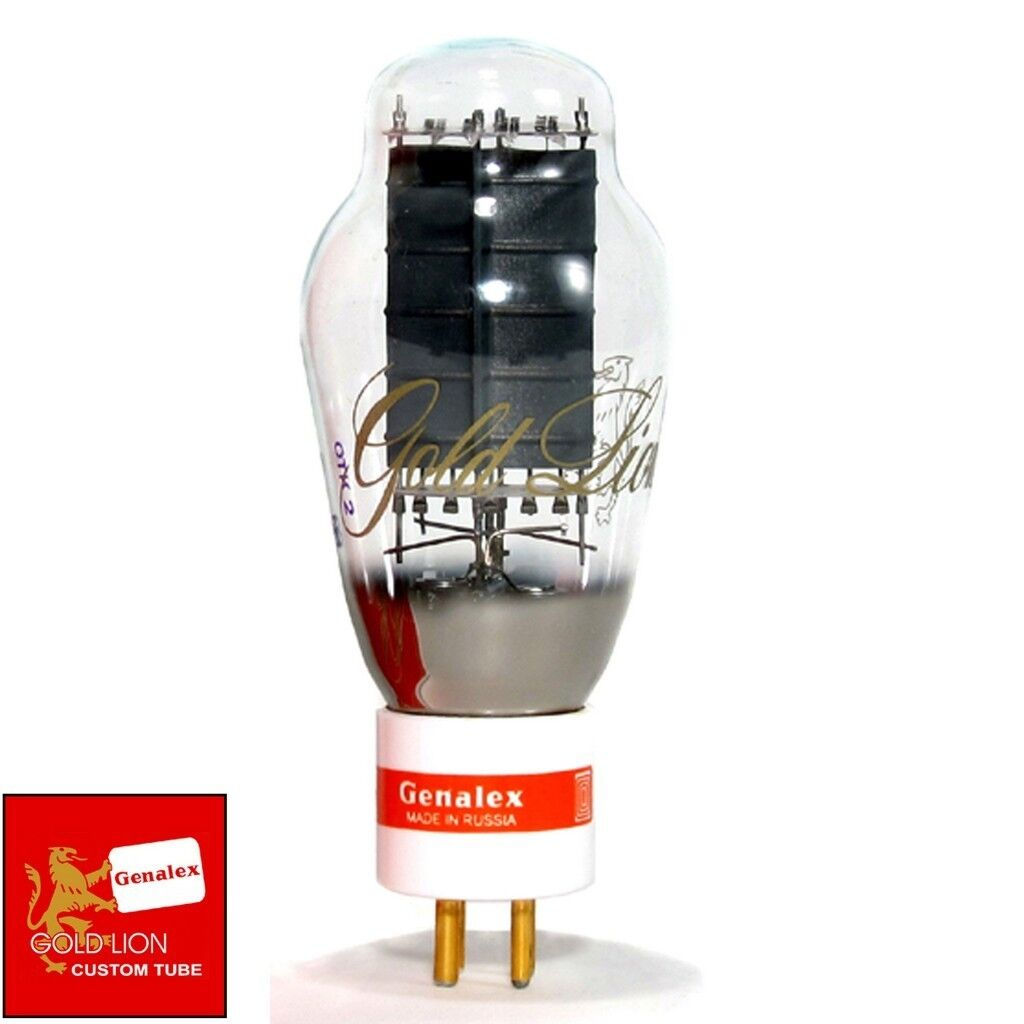 Brand New In Box Genalex Reissue PX300B   300B Gold PIN Vacuum Tube