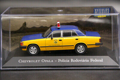 Altaya 1:43 Chevrolet Opala Policia Rodoviaria Federal Diecast Models Toys IXO