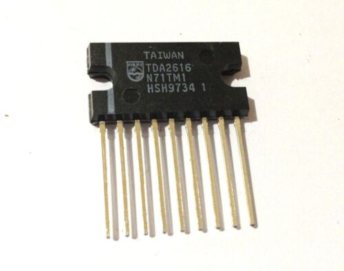 TDA2616  Original New Integrated Circuit Philips LOT OF 2