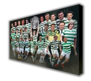 Celtic-Legends-Wall-Canvas-Picture-Print-Wall-Hanging-Art-63x40cm