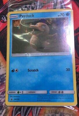 SM199 Psyduck Promo Pokemon TCG Card Sun Moon Black Star Detective Pikachu