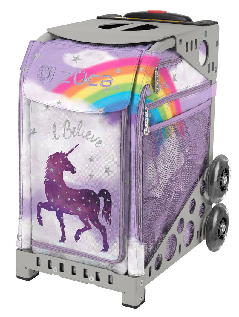 ZUCA Bag UNICORN 2 Insert & G  Frame  w Flashing Wheels - FREE SEAT CUSHION  order online