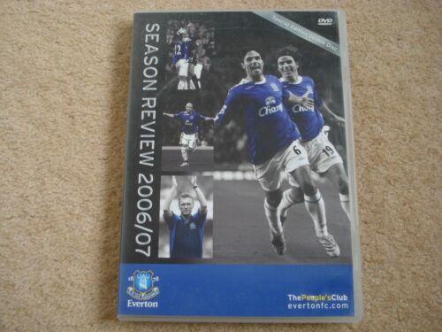 1 of 1 - Everton FC - 2006/2007 Season Review ( DVD , 2007, 2 Disc Set)