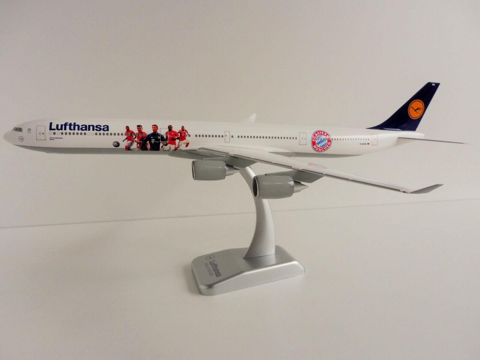 Airbus a340-600 Lufthansa FC Bavièrei Tour USA 1 200 LIMOX Wings lh49 a340