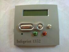 56P2004 IBM INFOPRINT 1352 Operator Control / Display Panel