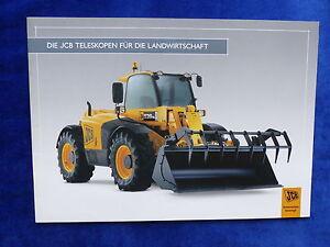 Jcb Télescopes Agriculture-prospectus Brochure 03.2008 (0634-afficher Le Titre D'origine Un RemèDe Souverain Indispensable Pour La Maison