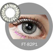 Lentille couleur gris 2 tons FT82P1 - grey color contact lenses