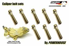 Ducati ST3 S ABS 2004-2007 Stainless joint bolt set Brembo front brake calipers