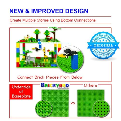 10 x 10 Inches Large Thick Base Plates for Bu... Improved Design 4 Baseplates