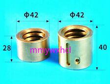 Milling Machine Part Landscape Screw Nut Y Axis Mobile Copper Nut Cnc Mill 2pcs