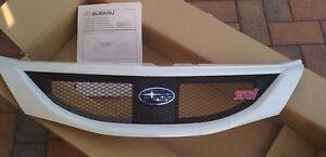 Suabru-Impreza-Hatchback-WRX-STi-Front-Grille-OEM-JDM-BRAND-NEW-2008-2010