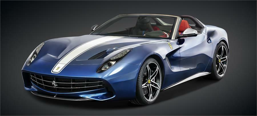 Ferrari F60 America Model in bluee 1 18 Scale by BBR