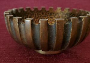 Vintage-Pal-Bell-Bronze-Bowl-MCM-Maurice-Ascalon-Design-Made-in-Israel-1950s