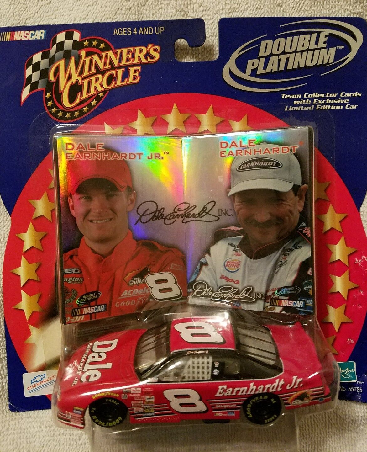 NASCAR EARNHARDT JR. Winner Circle Double Platinum