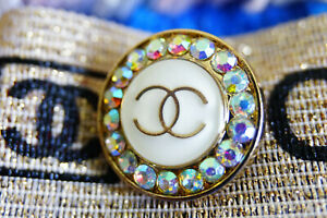 100-Authentic-Chanel-Button-1-pieces-pearl-amp-crystals