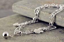 Silberarmband Herz Liebe Armband Silber 925 Damen Schmuck Armkette Geschenk