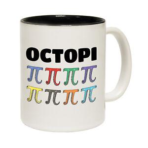 Funny Mugs Octopi Pi Maths - Geek Geeky Nerd Nerdy Humour Joke Gamer NOVELTY MUG