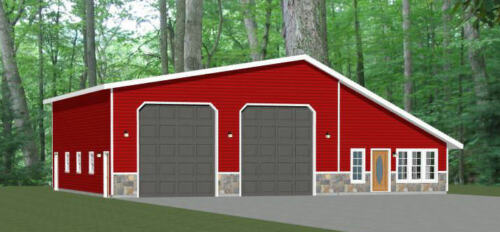 2 Bedr 1 Bath 2,649 sq ft Model 1E 56x48 2 RV Garage PDF Floor Plan