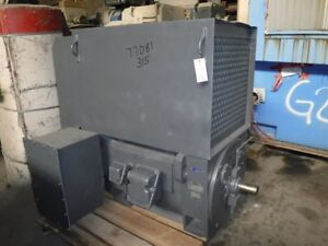 Image Is Loading 600 Hp Toshiba Electric Motor 3600 Rpm 315