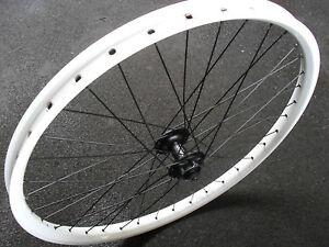 Halo-SAS-Front-Wheel-26-034-Shimano-Disc-Hub-WHITE-Fully-Built-BRAND-NEW