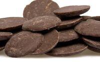 Dark/black Cocoa Butter Unrefined Wafers Form Pure & Organic Free Shipping
