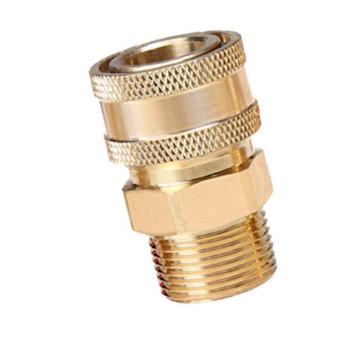 Hochdruckreiniger Kupplung Stecknippel Schnellkupplung Außengewinde M22