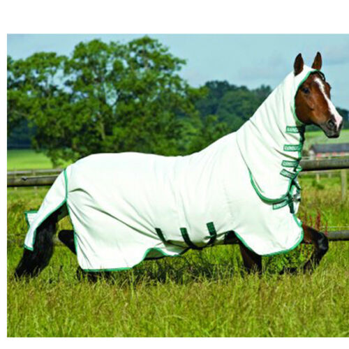 mouches masque MOUCHES COUVERTURE top Horseware rambo ekzemerdecke sweetitch Hoody incl