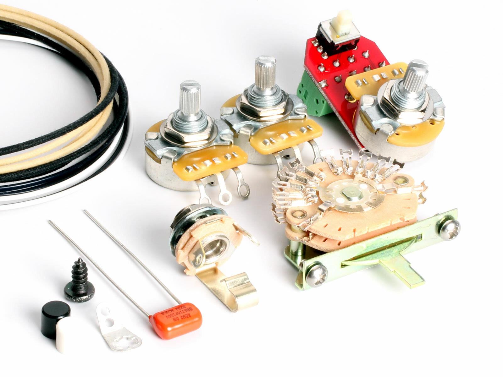 ToneShaper Wiring Kit, Stratocaster, SSS9 (Nashville Deluxe)